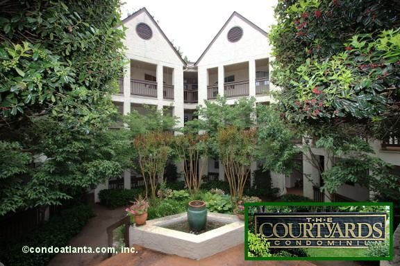 The Courtyards Condominiums in Decatur Georgia