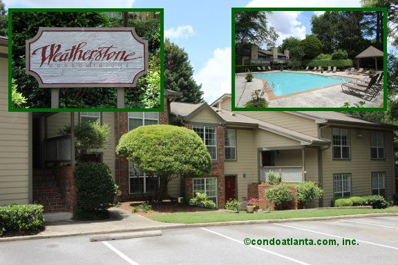 Weatherstone Condominiums in Atlanta Georgia