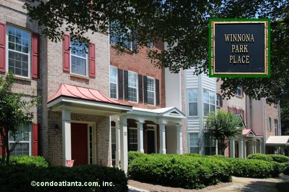 Winnona Park Place Townhomes in Decatur Georgia